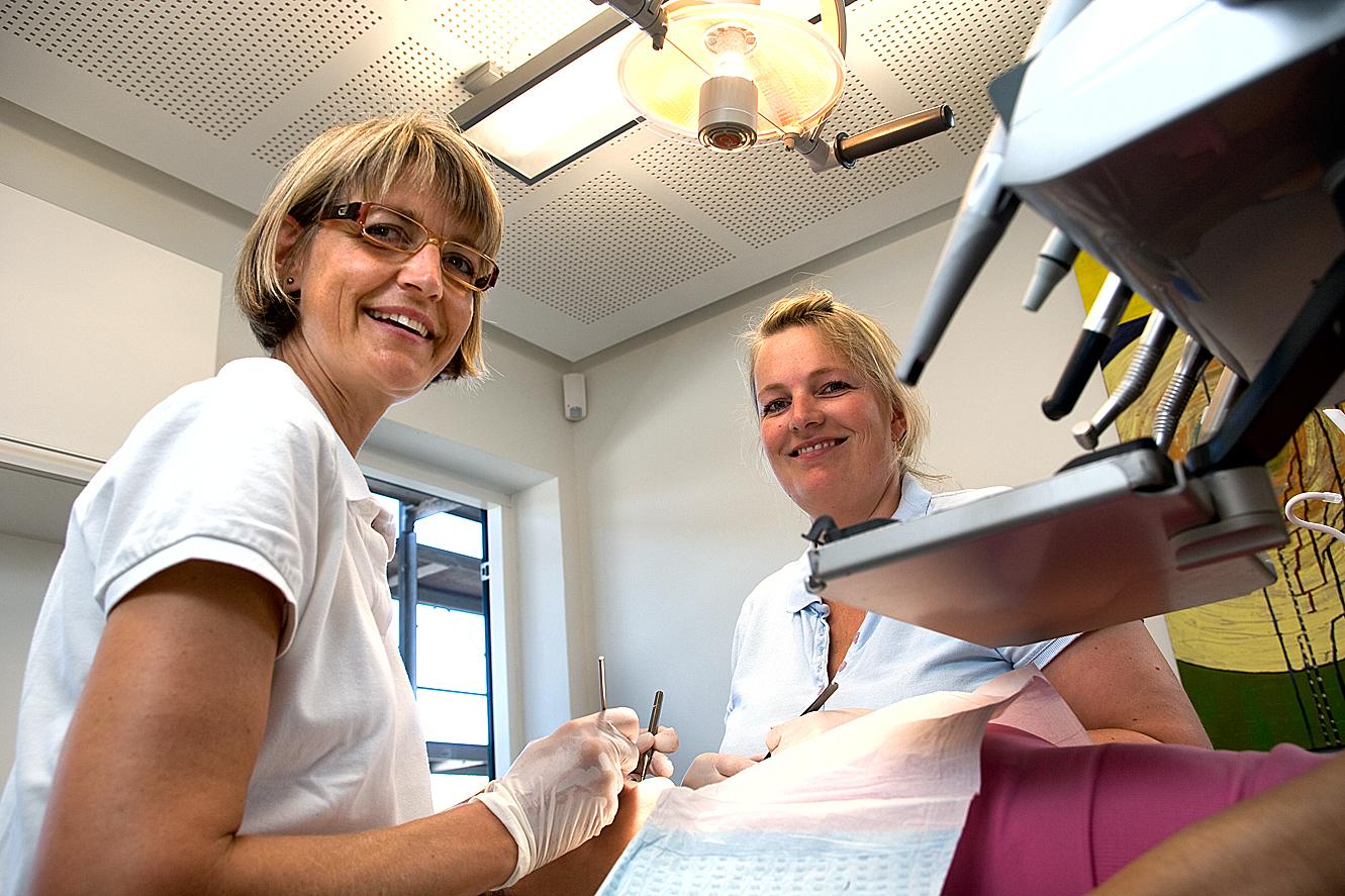 Tandlægepraxis i Vedbæk – udpluk af serie