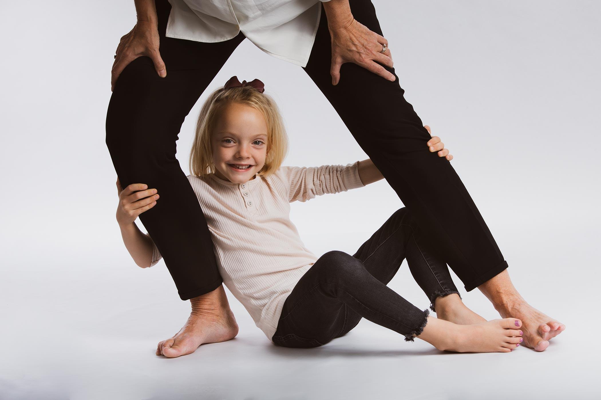 Familietræ med nybagte forældre