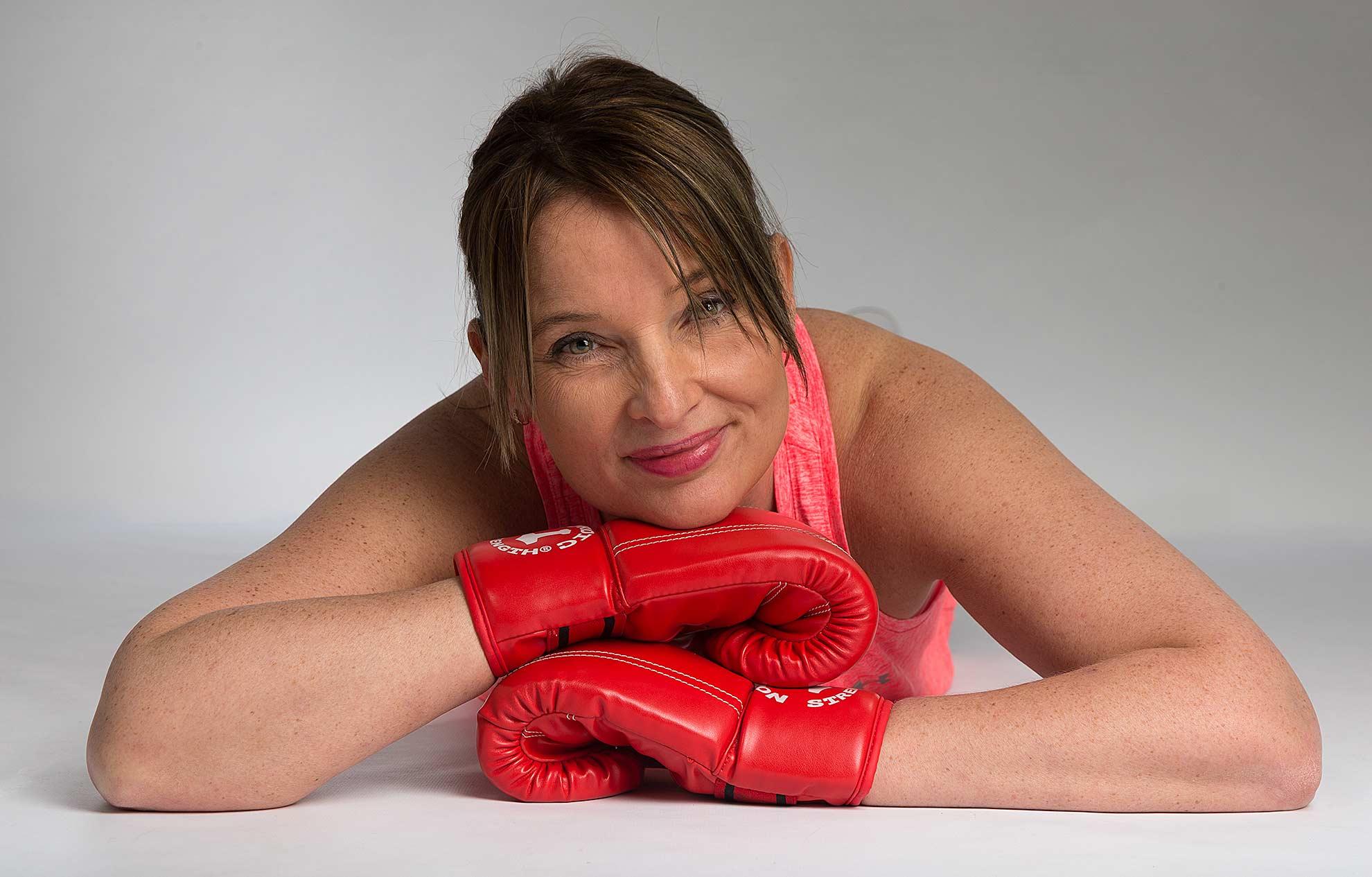 Portrætfoto af personlig træner og kostvejleder Tina Hindsberg