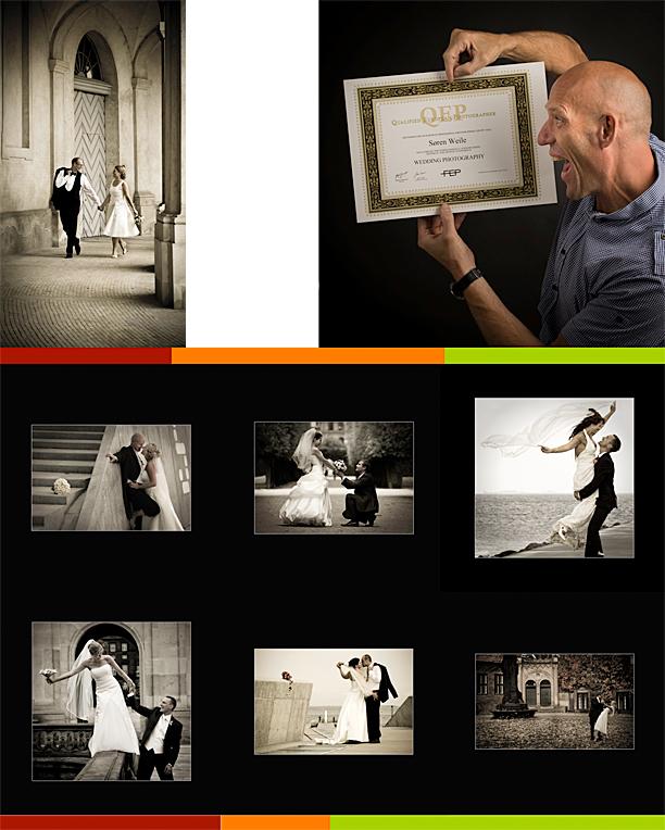 International titel til dansk Bryllupsfotograf. Qep i Bryllupsfotografi