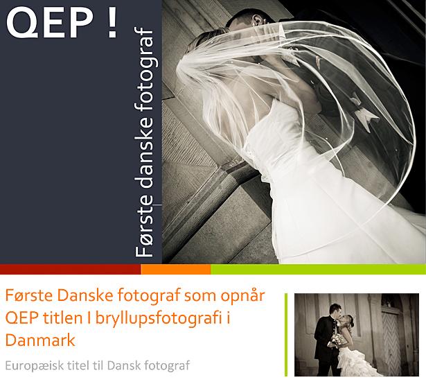 Første danske fotograf udnævnt med QEP titel