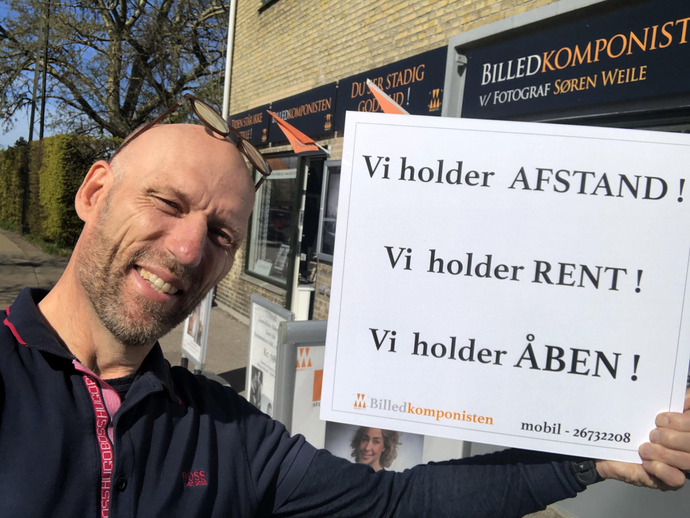 Fotografen i København holder åben !